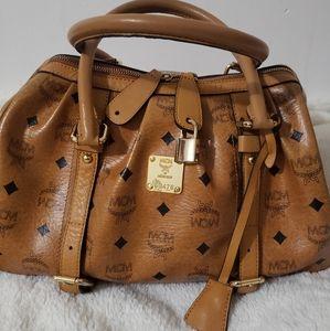 ❣ RARE MCM Cognac Boston Bag 💖💝